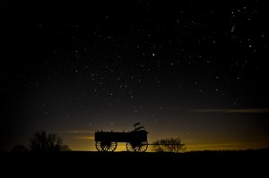Hitch a wagon to a star
